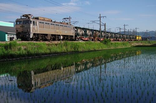 EF81 304牽引の1151列車